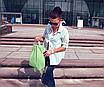 Стильный женский рюкзак мятного цвета код 9-25, фото 4