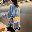 Сумка клатч женская желтая код 3-446, фото 7