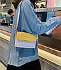 Сумка клатч женская желтая код 3-446, фото 8