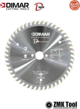 Пила DIMAR MFW 160 B2.2 c1.6 48Z d20 D-PRO серебрянная, фото 2