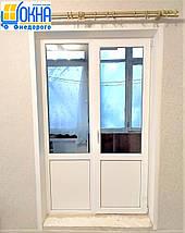 Пластиковые откосы на балконный блок, фото 3