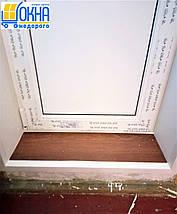 Пластикові укоси на балконний блок, фото 2