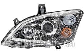Фара правая электро D1S+H7 (без LED) для Mercedes Vito 2010-14