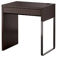 Рабочий стол IKEA MICKE, черно-коричневый, 202.447.47