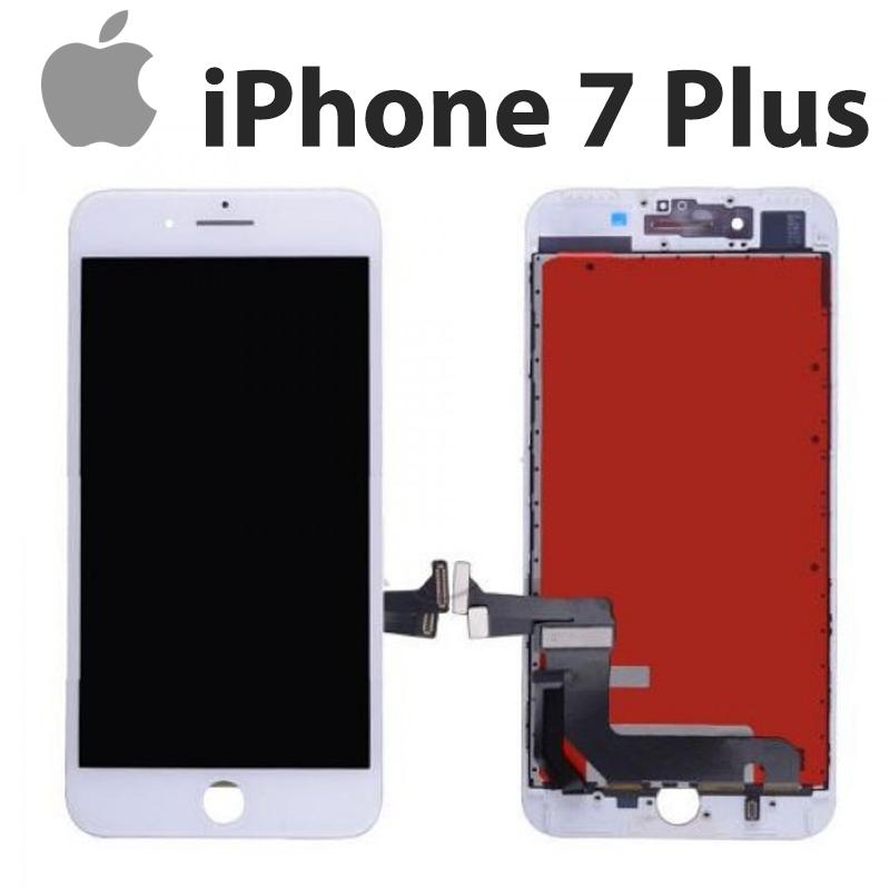 Экран iPhone 7 Plus белый, In-Cell модуль дисплей + тачскрин на айфон 7+