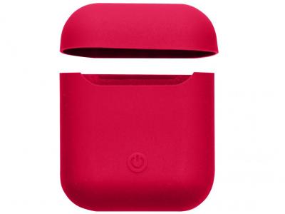 Футляр для наушников Airpod 2 Slim Цвет Tomato