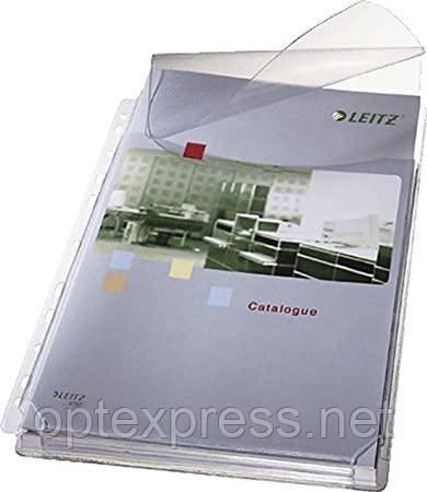 Файлы матовые  c клапаном для каталогов A4 Esselte, 170 мик., 5 шт. ESSELTE