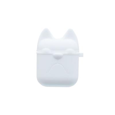 Футляр для наушников Airpod Dog Цвет Белый