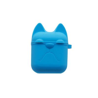 Футляр для наушников Airpod Dog Цвет Голубой