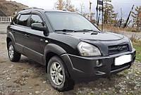 Дефлекторы окон Hyundai Tucson 2004-2010 ТТ Ветровики хюндай туксон