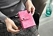 Кошелек женский ярко-розовый код 172, фото 4