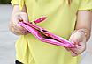 Кошелек женский ярко-розовый код 172, фото 7