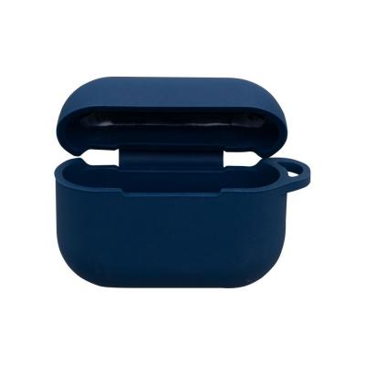 Футляр для наушников Airpod Pro Full Case Цвет Тёмно-Синий