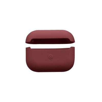 Футляр для наушников Airpod Pro Slim Цвет Burgundy
