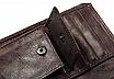 Кошелек портмоне мужской коричневый натуральная кожа код 251, фото 4