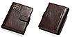 Кошелек портмоне мужской коричневый натуральная кожа код 251, фото 6