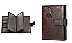 Кошелек портмоне мужской коричневый натуральная кожа код 251, фото 7