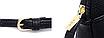 Сумка клатч женская черная код 3-384, фото 3