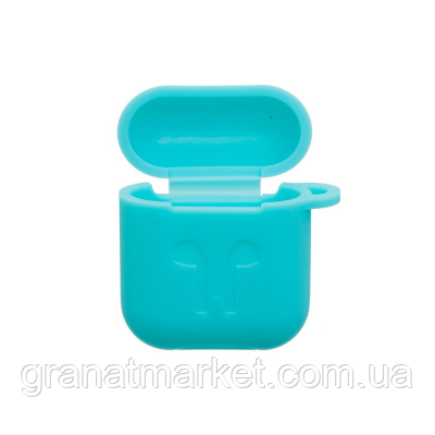 Футляр для наушников Airpod Full Case Цвет Голубой