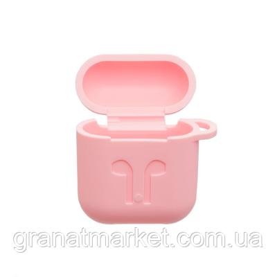 Футляр для наушников Airpod Full Case Цвет Розовый