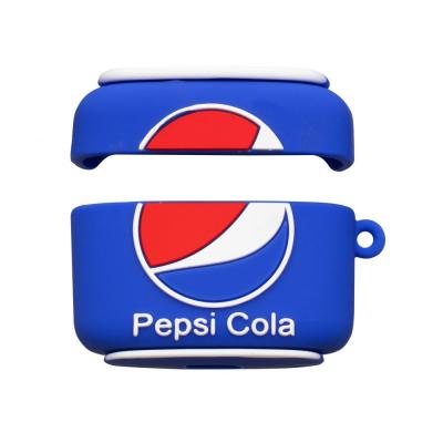 Футляр для наушников Pro Airpod Cartoon Цвет Pepsi