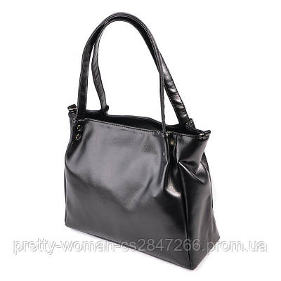 Женская черная сумка код 15-166