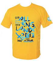 Футболка Yonex All England Yellow