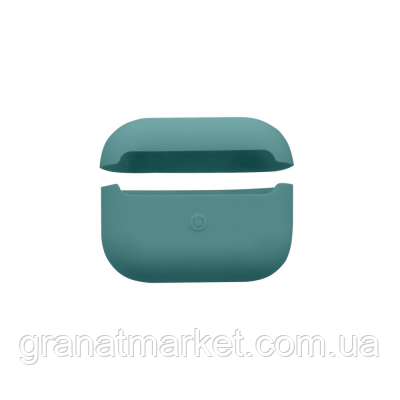 Футляр для наушников Airpod Pro Slim Цвет Midnight Green