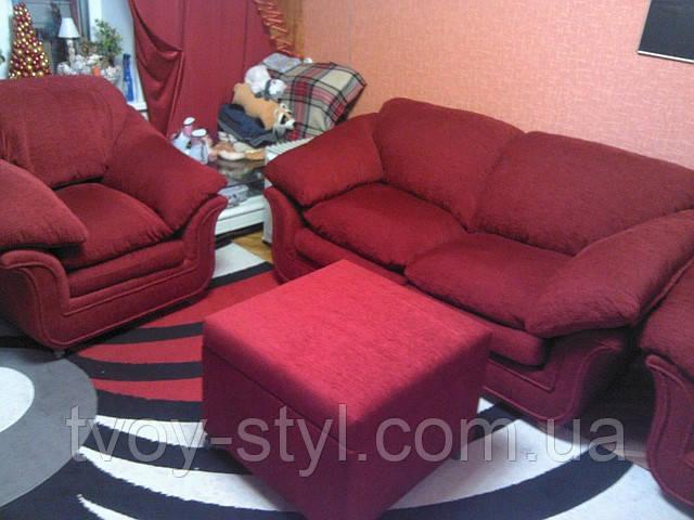 Перетяжка мягкой мебели в Днепропетровске