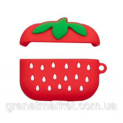 Футляр для наушников Pro Airpod Cartoon Цвет Strawberry