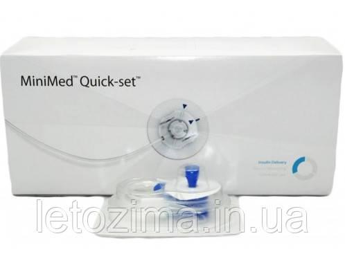 Инфузионный набор Quick-set Medtronic 6/80 (Катетеры для инсулиновой помпы)
