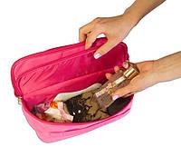 Двойной дорожный органайзер для белья Organize розовый C003 SKL34-176415