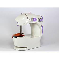 Мини швейная машинка 201 c педалью