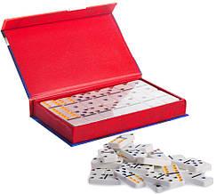 """Настільна гра """"Доміно"""" (розмір 18,5х11,5х3см)"""