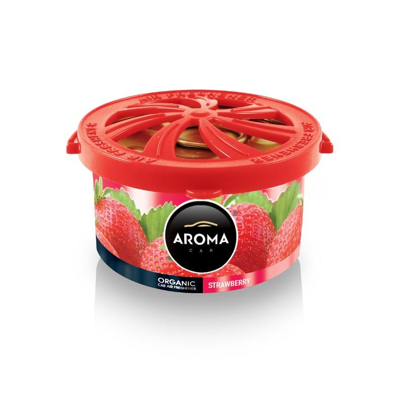 Ароматизатор Aroma Car Organic Strawberry Клубника