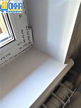 Пластиковые откосы на трехстворчатые окна, фото 2