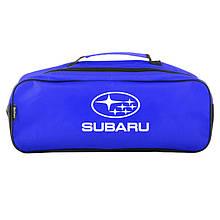 Сумка-органайзер в багажник синяя полиэстер BELTEX Subaru (SU29)