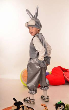 Карнавальный костюм серого зайчика на утренник, фото 2