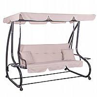 Качели-диван садовые с навесом Springos Venezia SKL41-277716