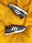 Мужские кроссовки Adidas ZX500 RM (темно-серые) D61, фото 2