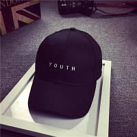 Крутая черная кепка youth