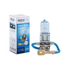 Галогеновая лампа BREVIA H3 POWER WHITE +60% 12030PWC