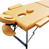 Массажный стол ZENET ZET-1044 M yellow, фото 2