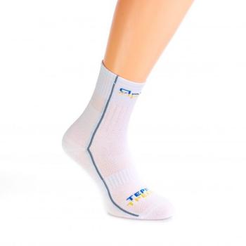 Шкарпетки Ярунь трекінгові  демісезонні Білі