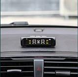 Контроль давления температуры в шинах TPMS, солнечная батарея, внешние датчики, аккумулятор, фото 3