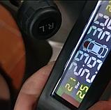 Контроль давления температуры в шинах TPMS, солнечная батарея, внешние датчики, аккумулятор, фото 4
