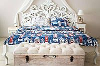 Комплект постельного белья Prestige двуспальный 175х215 см лондон SKL29-150433