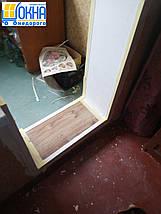 Откосы из гипсокартона на балконный блок, фото 3