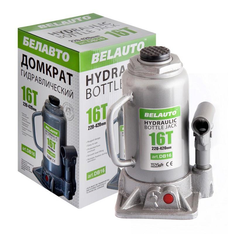 Домкрат бутылочный BELAUTO DB16 16т 220-420мм