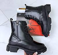 Ботинки зимние с мехом, фото 1